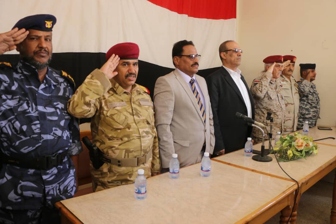 """الميسري : """" العسكرية الاولى لبنة الجيش الوطني في الحفاظ على المكتسبات الوطنية"""""""